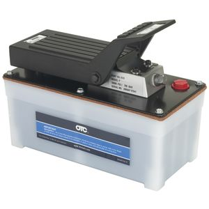 4020 Air/Hydraulic Pump, 9 scfm, 10.4 in L x 5.4 in W x 8.9 in H