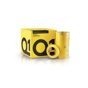 Q1® MT148 MTQ148 Premium Masking Tape, 55 m x 48 mm, 125 um THK, 20/case, Sun Yellow