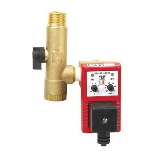 RTi ED-2-4 ED-2-4 Electronic Timer Drain, 1/4 to 1/2 in NPT, 110 VAC, Use With: Compressor/Line Drain
