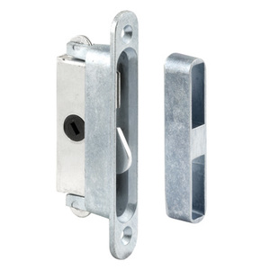 "CRL E2079 3/4"" Wide Mortise Lock and Keeper with 3-7/8"" Screw Holes for Pennco Doors"
