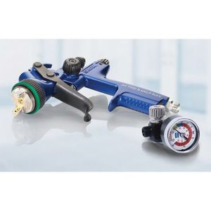 SATA 1109041 1109041 HVLP Solvent Spray Gun with Cup, 1.4 mm Nozzle, 0.3, 0.6, 0.9 L Capacity