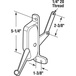 CRL H3693 Left Hand Awning Window Operator for Look and Rusco Windows