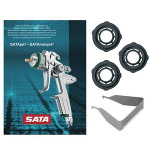 SATA 97824 97824 Air Distribution Ring with Puller, Use With: SATAjet 3000 ROB RP/HVLP, 2000 & 3000