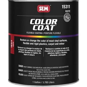 Color Coat™ 15311 15311 Flexible Coating Mixing System, 1 gal Can, White, 24 hr Curing, Liquid