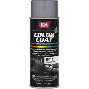 Color Coat™ 15413 15413 Flexible Coating, 16 oz Aerosol Can, Thomas Bus Gray, 24 hr Curing, Aerosol