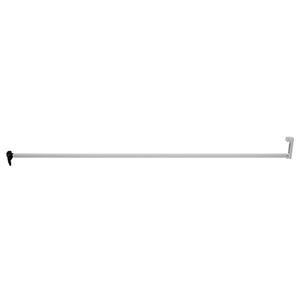 CRL S4013 Aluminum Security Bar for Sliding Glass Doors