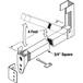 CRL S4013 Aluminum Security Bar for Sliding Glass Doors