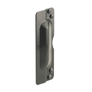 "CRL U9504 11"" Bronze Latch Shield for Flush Mounted Doors"