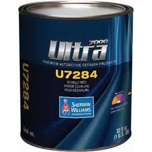 Sherwin-Williams Paint Company U728414 U7284-4 Mixing Toner, 1 qt Can, Scarlet Red