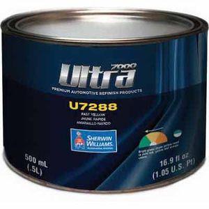 Sherwin-Williams Paint Company U7288LF U7288-18 Mixing Toner, 1/2 L Can, Fast Yellow
