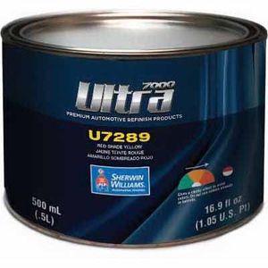 Sherwin-Williams Paint Company U7289LF U7289-18 Mixing Toner, 1/2 L Can, Red Shade Yellow