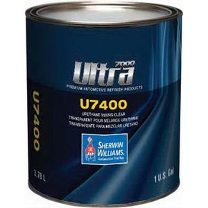 Sherwin-Williams Paint Company U740016 U7400-1 Ultra One Single Stage Mixing Clear, 1 gal Can, Clear