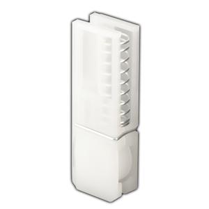 """CRL B544 9/16"""" Flat Edge Nylon Sliding Screen Door Bottom Roller for Ador/HiLite Doors"""