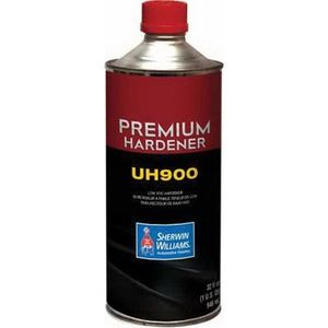 Sherwin-Williams Paint Company UH90014 UH900-4 Low VOC Hardener, 1 qt Can, Liquid, Use With:, CC250 Dynamic Clearcoat