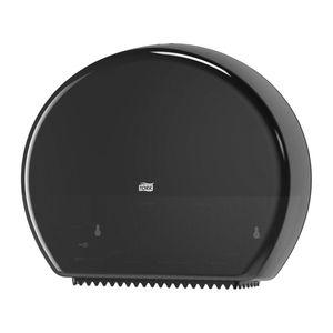Tork® 554028A 554028A Dispenser with Reserve, 5.2 in L x 14.2 in H x 17.2 in W, Plastic, Black