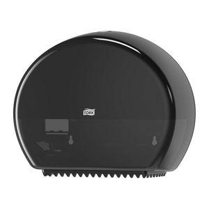 Tork® 555028A 555028A Dispenser with Reserve, 5.2 in L x 10.8 in H x 13.6 in W, Plastic, Black