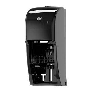 Tork® 555628 555628 Dispenser, 6-1/2 in L x 14.2 in H x 6.3 in W, Plastic, Black