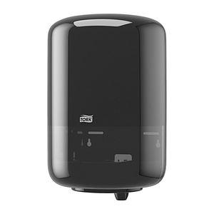 Tork® 559028 559028A Dispenser, 9 in L x 14.4 in H x 9.4 in W, Plastic, Black