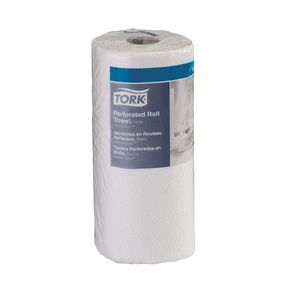 Tork® HB9201 HB9201 Handi-Size Perforated Roll Towel, 5.2 in Dia x 67.5 ft L x 11 in W Roll, 120, Recycled Fiber/Paper