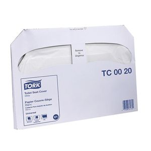 Tork® TC0020 TC0020 Toilet Seat Cover, 1 Plys