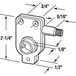 "CRL R7025 Right Hand RV Window Torque Operator 3/4"" Screw Holes"