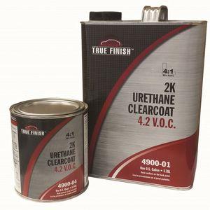 TRANSTAR® 4900-04 4900-04 Urethane Clearcoat, 1 qt Can, True, 4:1 Mixing