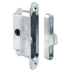 "CRL E2126 7/8"" Wide Mortise Lock and Keeper with 3-7/8"" Screw Holes for Traco Doors"