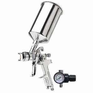 TITAN™ 19113 19113 HVLP Gravity Feed Spray Gun, 1.3 mm Nozzle, 1000 mL Container