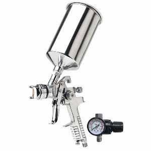 TITAN™ 19117 19117 HVLP Gravity Feed Spray Gun, 1.7 mm Nozzle, 1000 mL Container