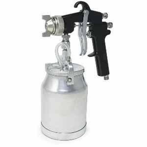 19418 Siphon Feed Production Spray Gun, 1.8 mm, 1 L, Aluminum