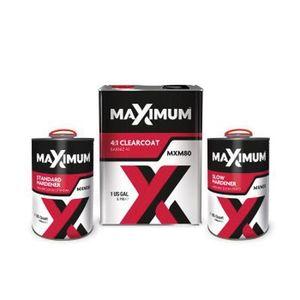 U-POL MXM80 MXM80 Clearcoat, 1 gal Can, 4:1 Mixing