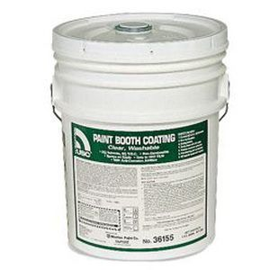 USC® 36155 36155 Paint Booth Coating, 5 gal Bucket, Clear