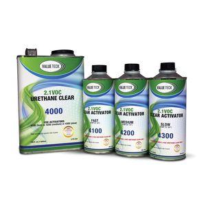 Value Teck VT-4000.G01 4000-1 Urethane Clear Coat, 4:1 Mixing