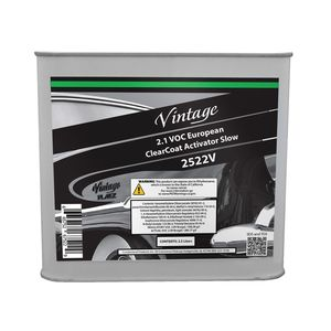 Vintage 2522V CP2522V Slow Clearcoat Activator, 2.5 L, Colorless, Liquid, Use With: European Clearcoats