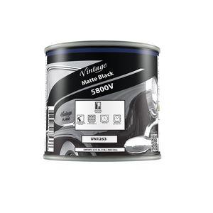 Vintage 5800-4 CP5800-4 Hot Rod Color, 1 qt Can, Black, Liquid, 24 hr Curing