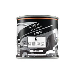 Vintage 5885-4 CP5885-4 Hot Rod Color, 1 qt Can, Orange, Liquid, 24 hr Curing