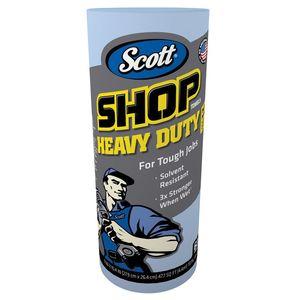 Scott™ 32992 32992 Heavy Duty Shop Towel, 11 x 10.64 in, 60, Hydroknit, Blue, 1 Plys