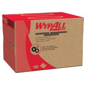 WypAll® 33352 33352 Brag Box Cloth, 16.8 x 12.1 in, 180, Polypropylene, Blue, 1 Plys