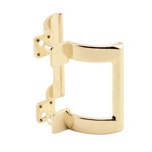 """CRL M6161 Brass 2-1/4"""" Shower Door Pull Handle"""