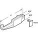 CRL M6090 Sliding Shower Door Bottom Guide for Kinkead and Sterling