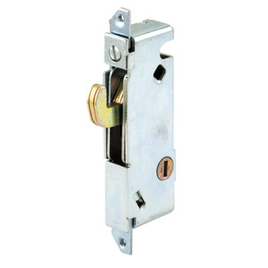"CRL E2012 1/2"" Wide Square End Face Plate Mortise Lock 3-11/16"" Screw Holes for W & F Doors"