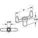 CRL R7011 Dual Grip Crank Handle - pack of 2