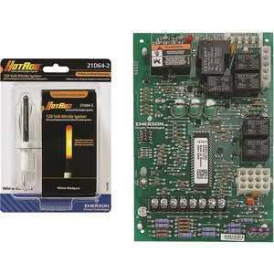 White Rodgers 21V51U-843 Universal 2-Stage HSI Variable Speed (ECM) Circulator Furnace Control Kit