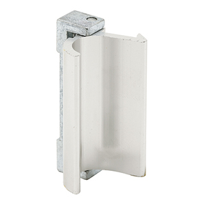 Window Pull & Latch For Keller Industry Windows With Aluminum Finish