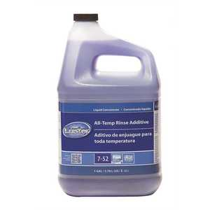 Luster 010789745912 Professional 1 Gal. Closed Loop All Temp Rinse Additive Liquid Concentrate Dishwasher