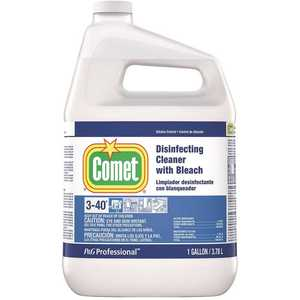 COMET 003700030250 1 Gal. Closed Loop Liquid Disinfecting Cleaner with Bleach with Spray Bottle