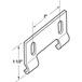 CRL M6191 Sliding Shower Door Hook Guide - pack of 2