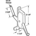 CRL H3678 Right Hand Awning Window Operator for Tucker