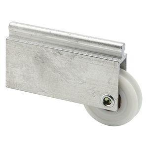 "CRL N6599 1-1/2"" Nylon Wardrobe Door Roller for Monarch Mirror Door"