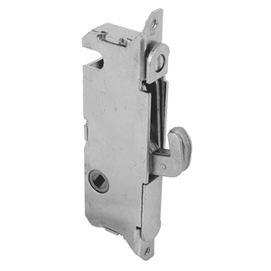 "CRL E2199 1/2"" Wide Stainless Steel Round End Face Plate Mortise Lock with 45 Degree Keyway for W&F Doors"